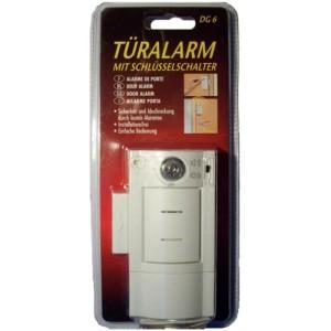 Tür Alarmanlage - Türalarm mit Schlüsselschalter Pentatech DG 6 / TA 603
