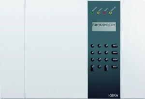 Gira Alarmanlage Funk Alarmzentrale VdS Alarm, weiß