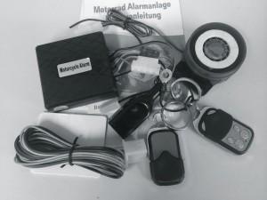 Motorrad Alarmanlage - Die Roller, Motorrad oder Quad Alarmanlage mit Motorstart für alle Roller mit zwölf Volt