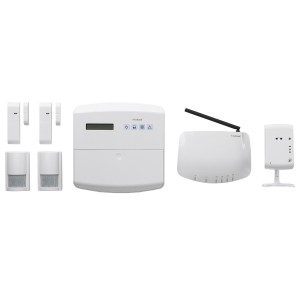 Friedland Alarmanlage Global Guard IP-Funk-Set 868MHz mit IP-Kamera 2.4GHz, FGGK0201WWE