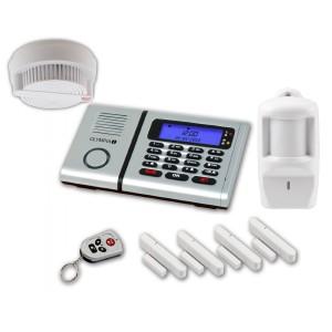 Alarmanlagen Neuerscheinung Olympia Protect die neue Plus Alarmanlage GSM Funk Spar Set Rauchmelder Tür Fenster/Kontakte Bewegungsmelder und Fernbedienung [Energieklasse A+]